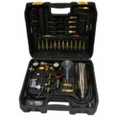 Комплект для очистки форсунок и топливных систем бензиновых и дизельных ДВС HESHITOOLS HS-A0023