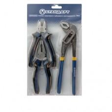 Набор шарнирно-губцевого инструмента, 3ед. SPP0301 STANDART